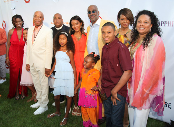 Rev. Run Simmons and Family 2013