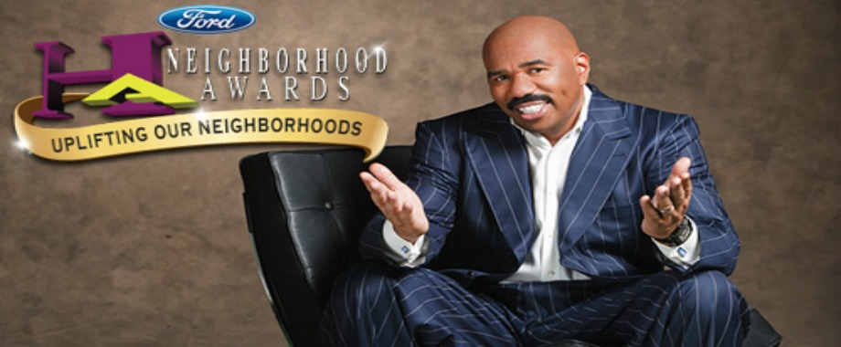 Steve Harvey and Ford to Award $30,000 to One Outstanding Community