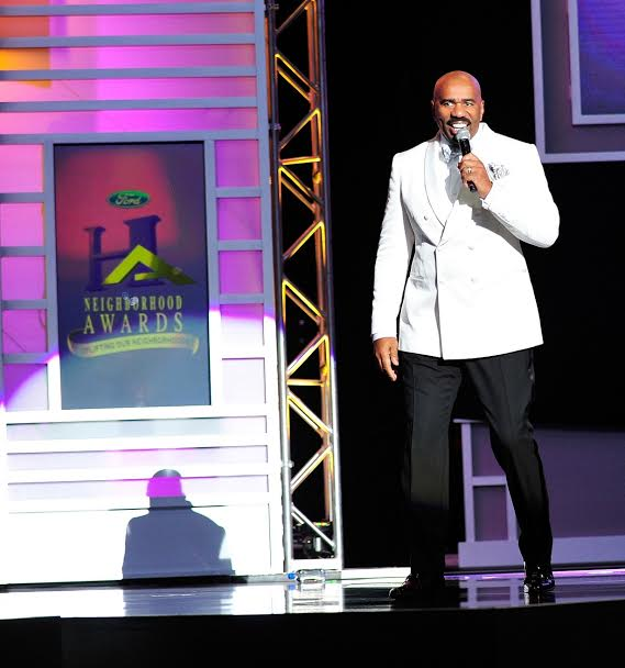 Steve Harvey announces the 13th Annual Neighborhood Awards Weekend ...