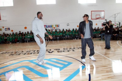 Jay-Z and Lebron James Give Back to Boys and Girls Club in ...