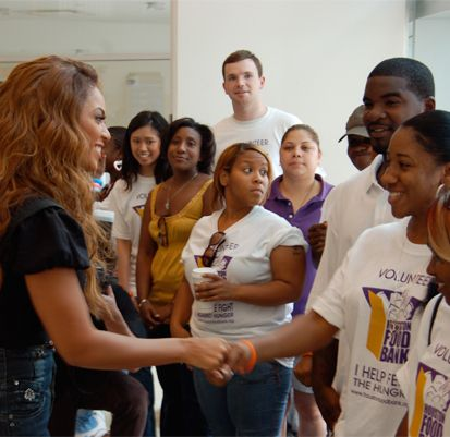 Beyonce world tour teaser: Queen B dresses like royalty ... |Beyonce Charity Work